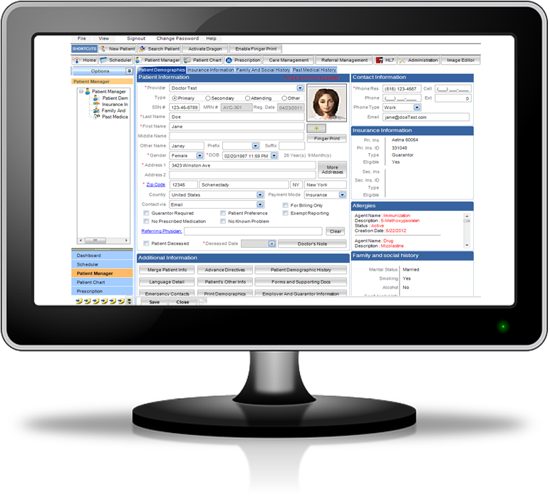 Nortec EHR on your PC